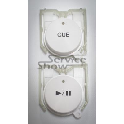 Pioneer CDJ-350W (Fehér) PLAY/PAUSE - CUE gombsor / DAC2689
