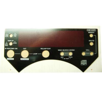 Pioneer CDJ-1000, CDJ-1000 MK2 kijelző plexi lemez / DAH2022