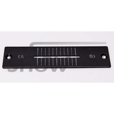 Pioneer DJM-800 crossfader előlap ( fekete ) / DAH2427