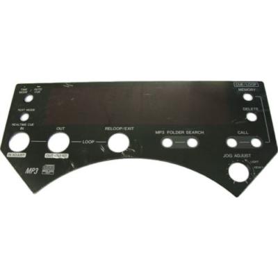 Pioneer CDJ-1000 MK3 kijelző plexi lemez / DAH2435