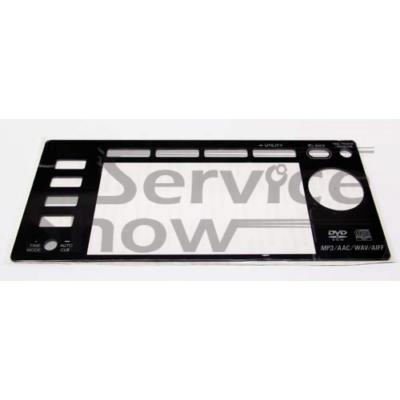 Pioneer CDJ-2000 kijelző plexi lemez ( öntapadős felülettel ) / DAH2680